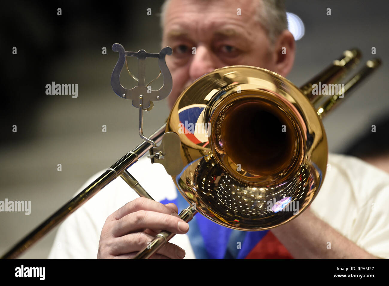 Play Trumpet Stock Photos & Play Trumpet Stock Images - Alamy