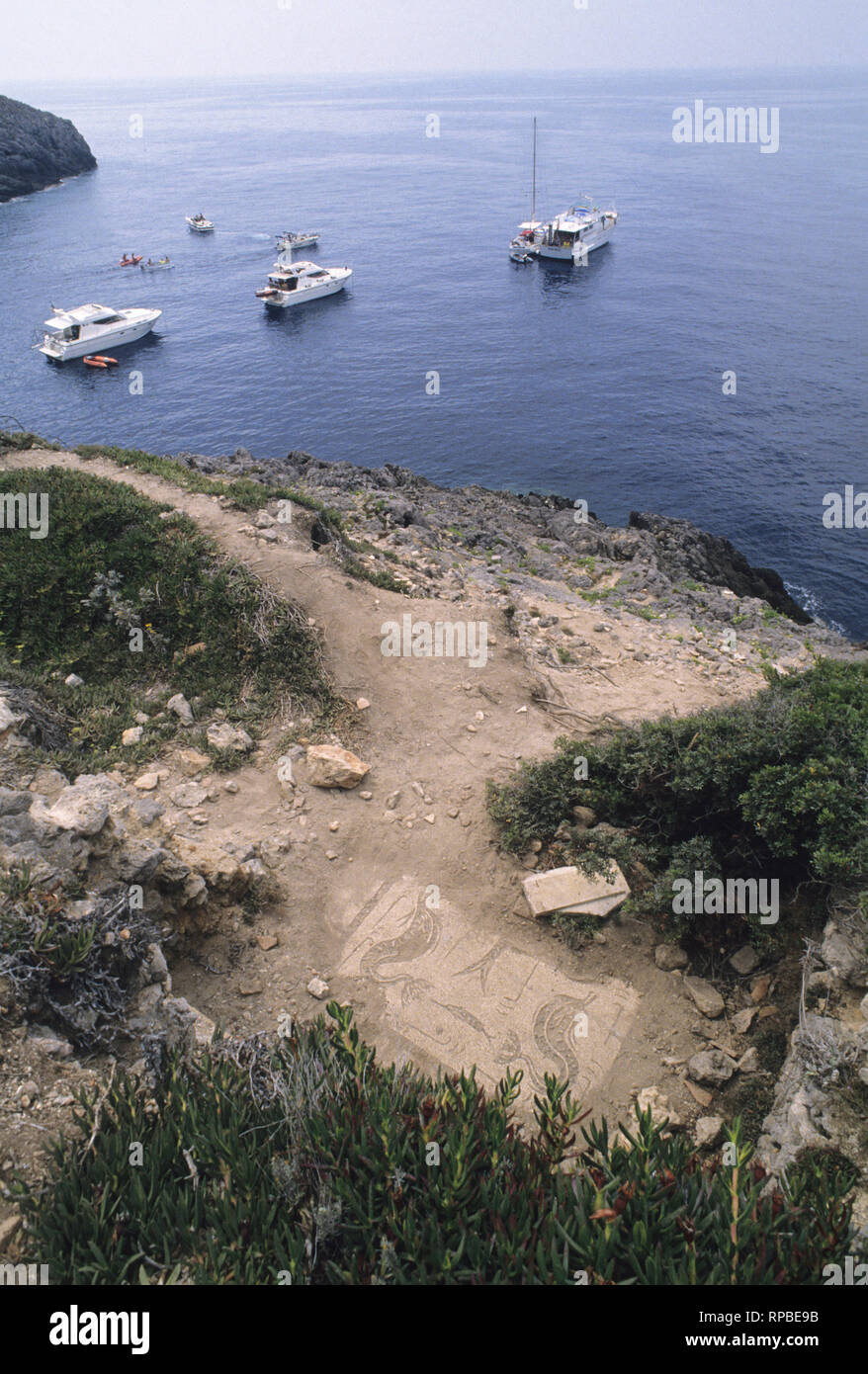 giannutri island, grosseto province, toscana (tuscany), italy - Stock Image