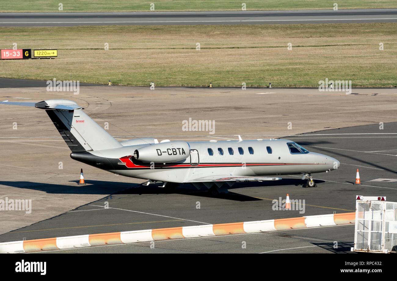 Cessna 525 Citation Cj4 At Birmingham Airport Uk D Cbta