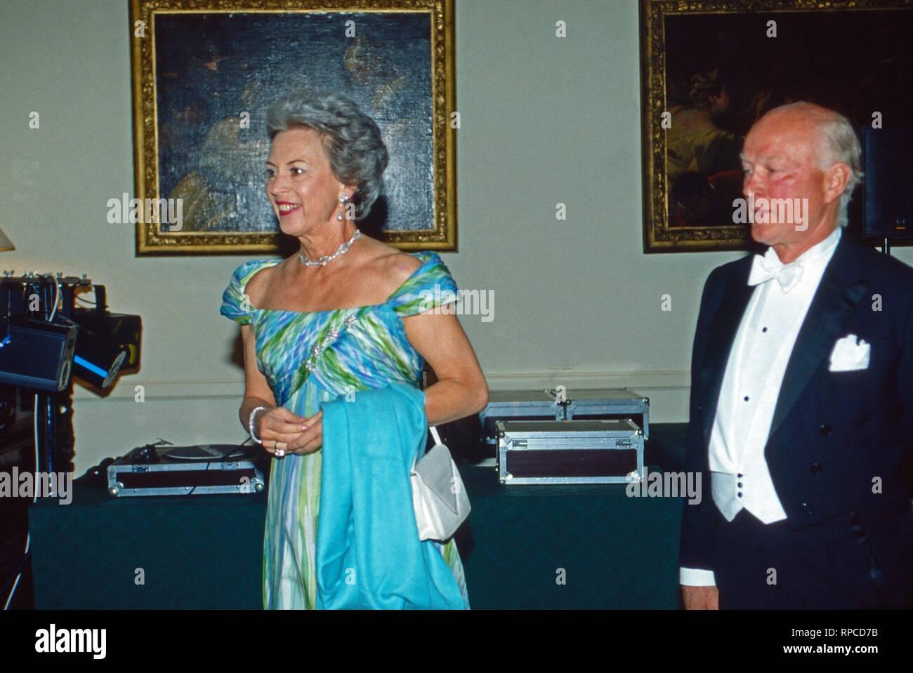Richard Prinz zu Sayn-Wittgenstein-Berleburg mit Gemahlin Benedikte, Deutschland 2004. Richard Prince zu Sayn-Wittgenstein-Berleburg with his wife Benedikte, Germany 2004. - Stock Image