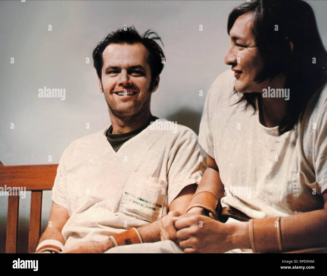 NICHOLSON,SAMPSON, ONE FLEW OVER THE CUCKOO'S NEST, 1975 - Stock Image