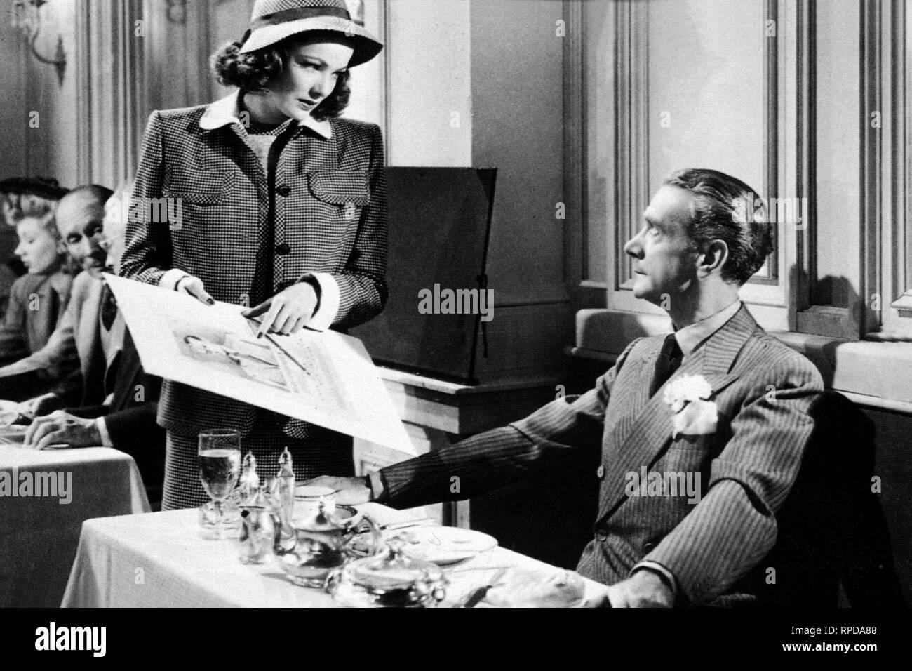 TIERNEY,WEBB, LAURA, 1944 Stock Photo