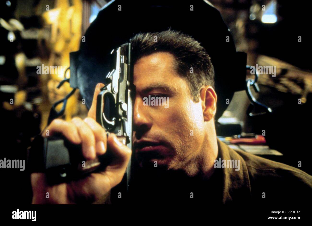 JOHN TRAVOLTA, BROKEN ARROW, 1996 Stock Photo