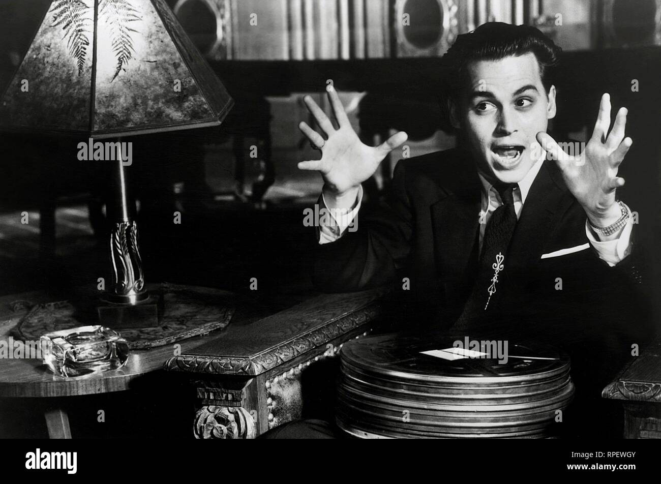 JOHNNY DEPP, ED WOOD, 1994 - Stock Image
