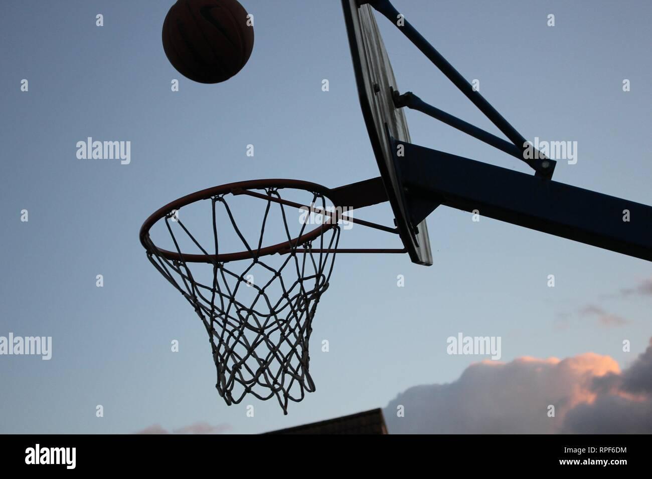 Basketball - Stock Image
