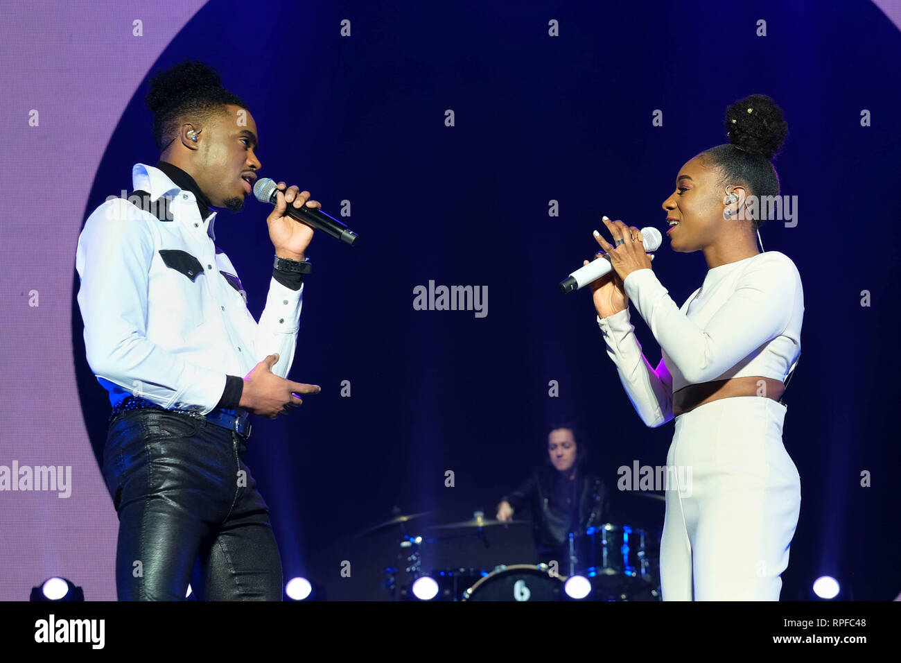 Bournemouth, Dorset, UK  20th February 2019  X Factor UK Tour 2019