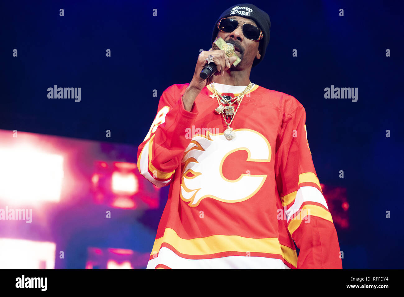 Calgary, Alberta, Canada  21st Feb, 2019  Snoop Dogg