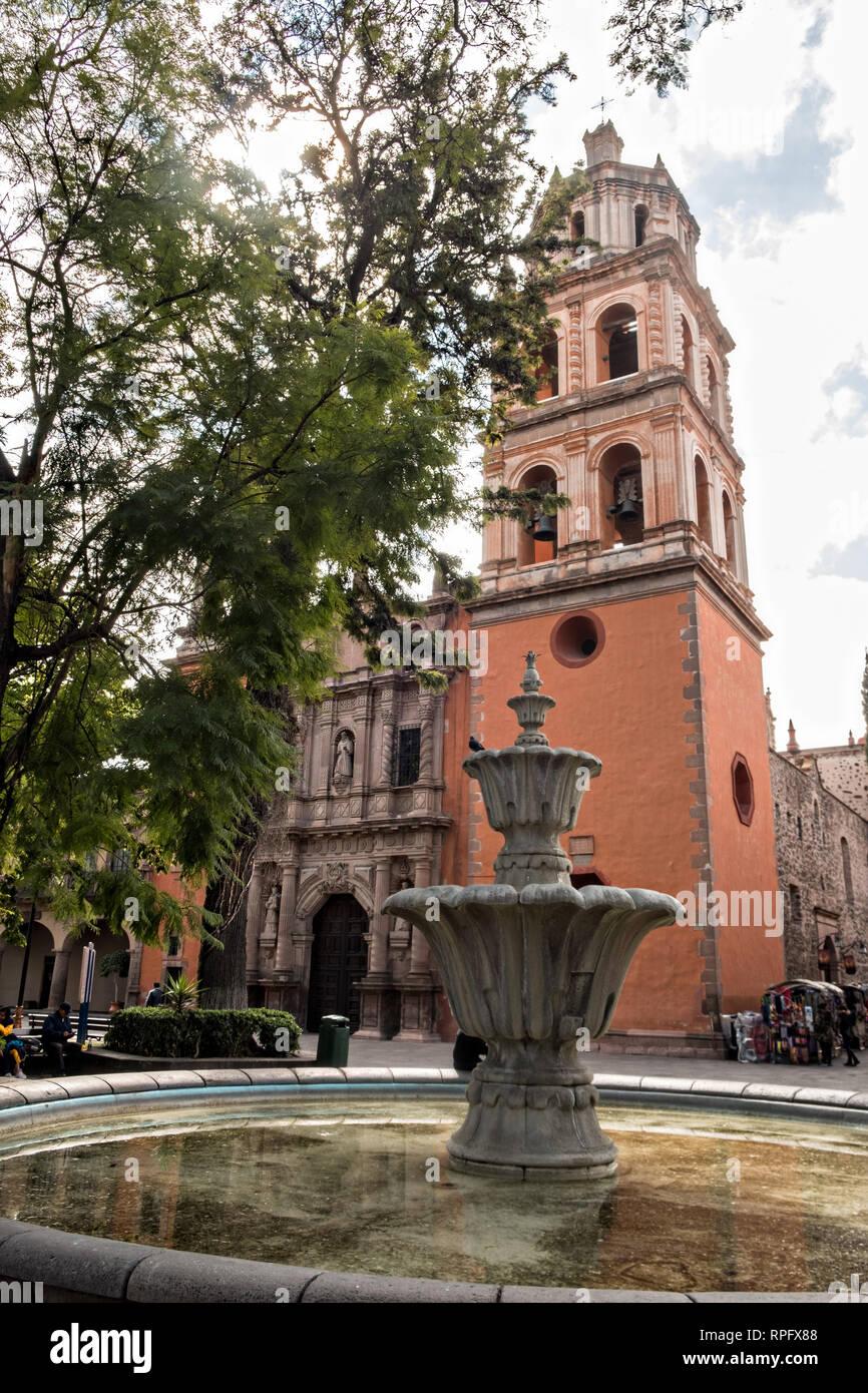 The Baroque Facade Of The Templo De San Francisco Or San Francisco
