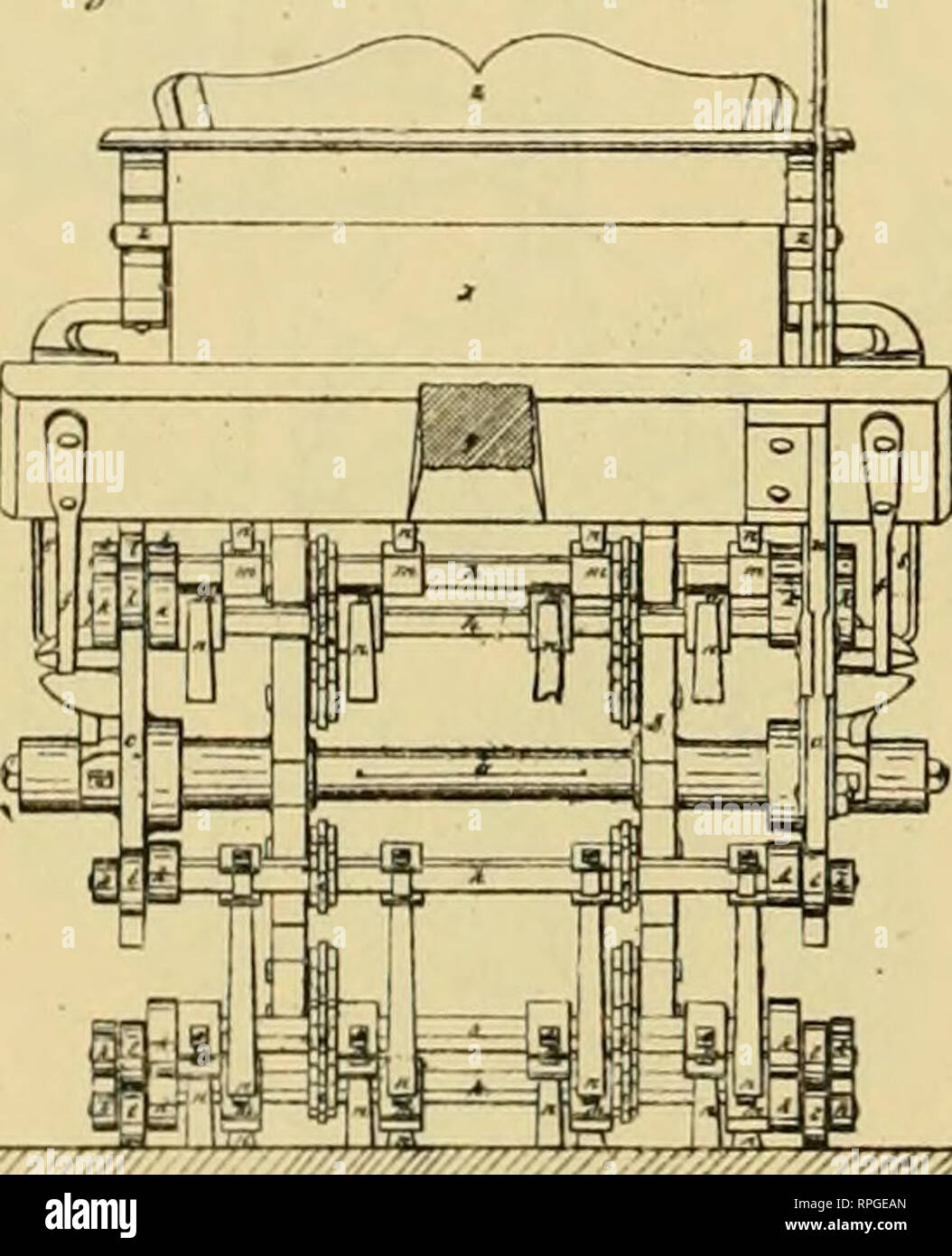 ". Allen's digest of plows, with attachments, patented in the United States from A.D. 1789 to January 1883 ... Plows; Patents. ?'?///?'/////////.yv JiSa^ £ ji^jiiy/r t/Afaf^i. YiJ^f/A' CGmj^fycl Jf*Air,fi^s tSG', J/3(,^Jt J'^ ^-w/^/i. '""r""///////';:'. Please note that these images are extracted from scanned page images that may have been digitally enhanced for readability - coloration and appearance of these illustrations may not perfectly resemble the original work.. Allen, James T. (James Titus). [Washington, D. C. , Joseph Bart, Printer - Stock Image"