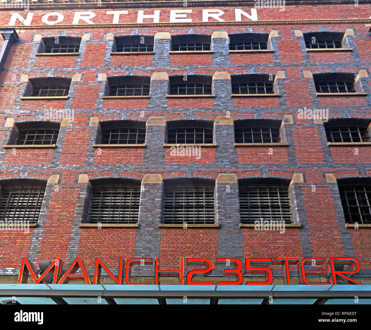 Manchester235 Manch235ter Casino, Great Northern Warehouse, Deansgate, Manchester, England, UK - 2 Watson St, Manchester M3 4LP - Stock Image