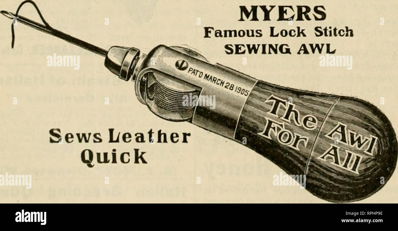 Sewing Awl Stock Photos & Sewing Awl Stock Images - Alamy