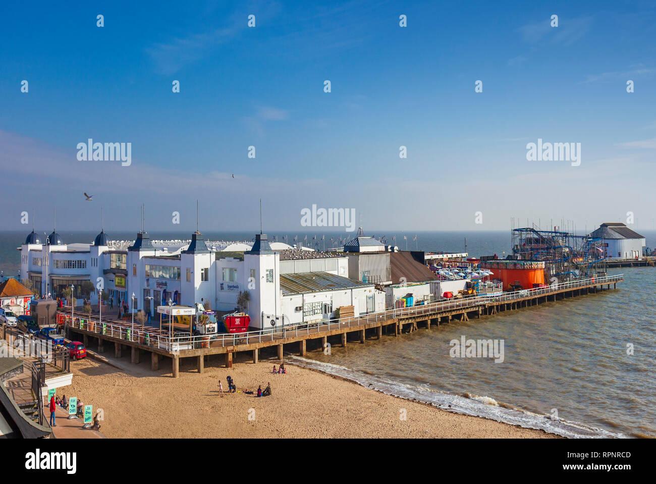 Clacton Pier - Stock Image