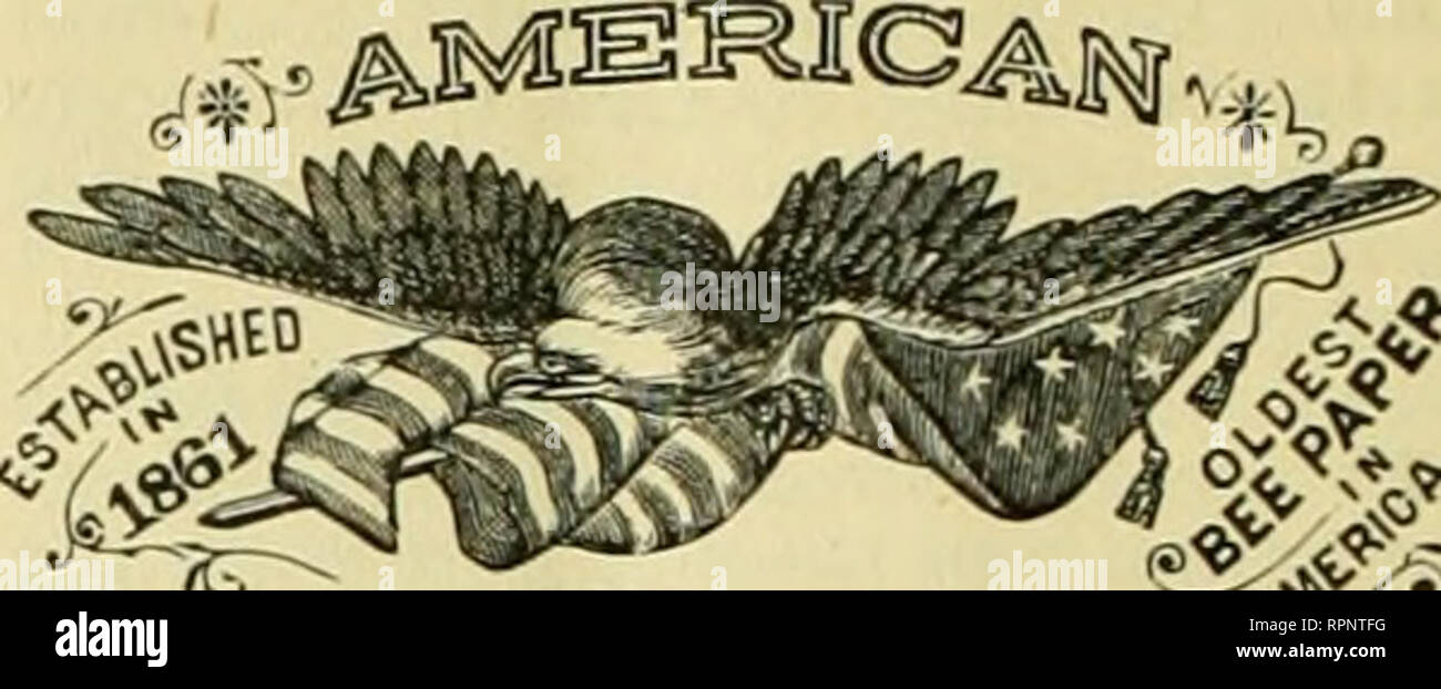 """. American bee journal. Bee culture; Bees. 204 THE AMERICAN BEE JOURNAL. Convention Notices. ZW The bee-keepers of MaDltowoc and adjoin- iDp counties will meet at Kiel. Wis., on March 25. 1880. for the purpose of organiztnp a bee-keepers' association. J. H. Roberts. ^"""" The Wabash County Bee-Keepers' Associa- tion will meet at the Court House in Wabash. Ind., on Wednesday. Apr. 7. 1886, at 10 a.m. All bee- keepers are invited. J. J- Martin, Sec. lEF"""" The bee-keepers of Stark and adjoining counties are earnestly requested tomeet atGranwe Hall("""")ver Farmer's Bank), (.'anton. O., on - Stock Image"""