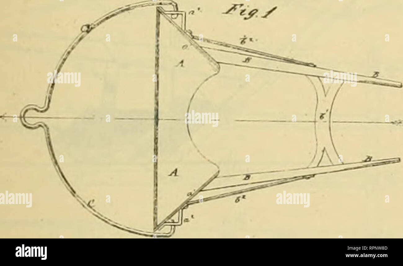 . Allen's digest of plows, with attachments, patented in the United States from A.D. 1789 to January 1883 ... Plows; Patents. /2i/<*^ ii^i'M. No. 146.848 F. G. THURSTON. fuTow-Scrapers. Pjifnledlm. ?(, IB7<. E. HAIMAN. Sweeps 7or Cultivators anil Plows. IVo.147,633 Palenltd F.b. 17, 1874.. Please note that these images are extracted from scanned page images that may have been digitally enhanced for readability - coloration and appearance of these illustrations may not perfectly resemble the original work.. Allen, James T. (James Titus). [Washington, D. C. , Joseph Bart, Printer - Stock Image