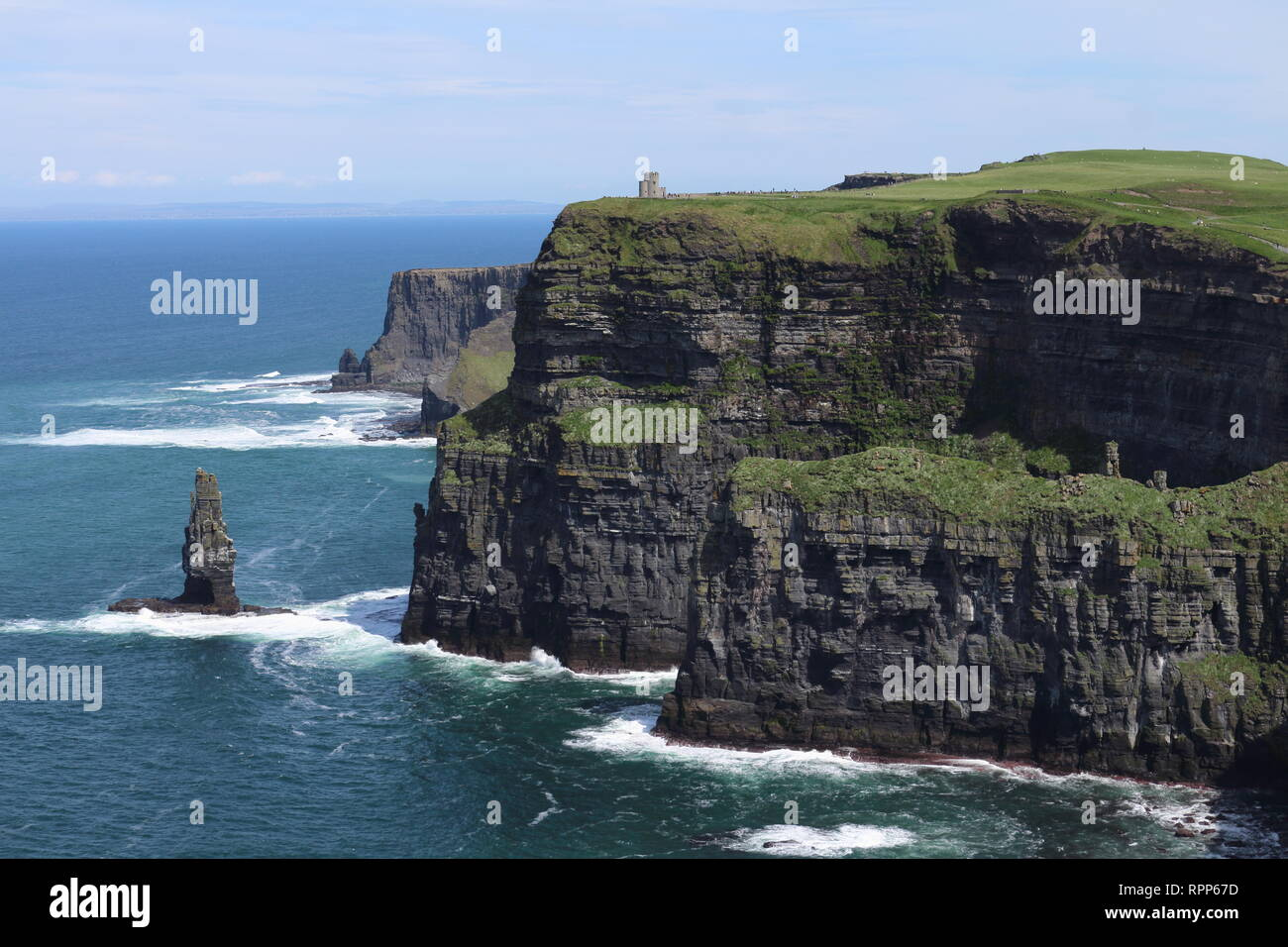 Ireland Wild Atlantic Way - Stock Image
