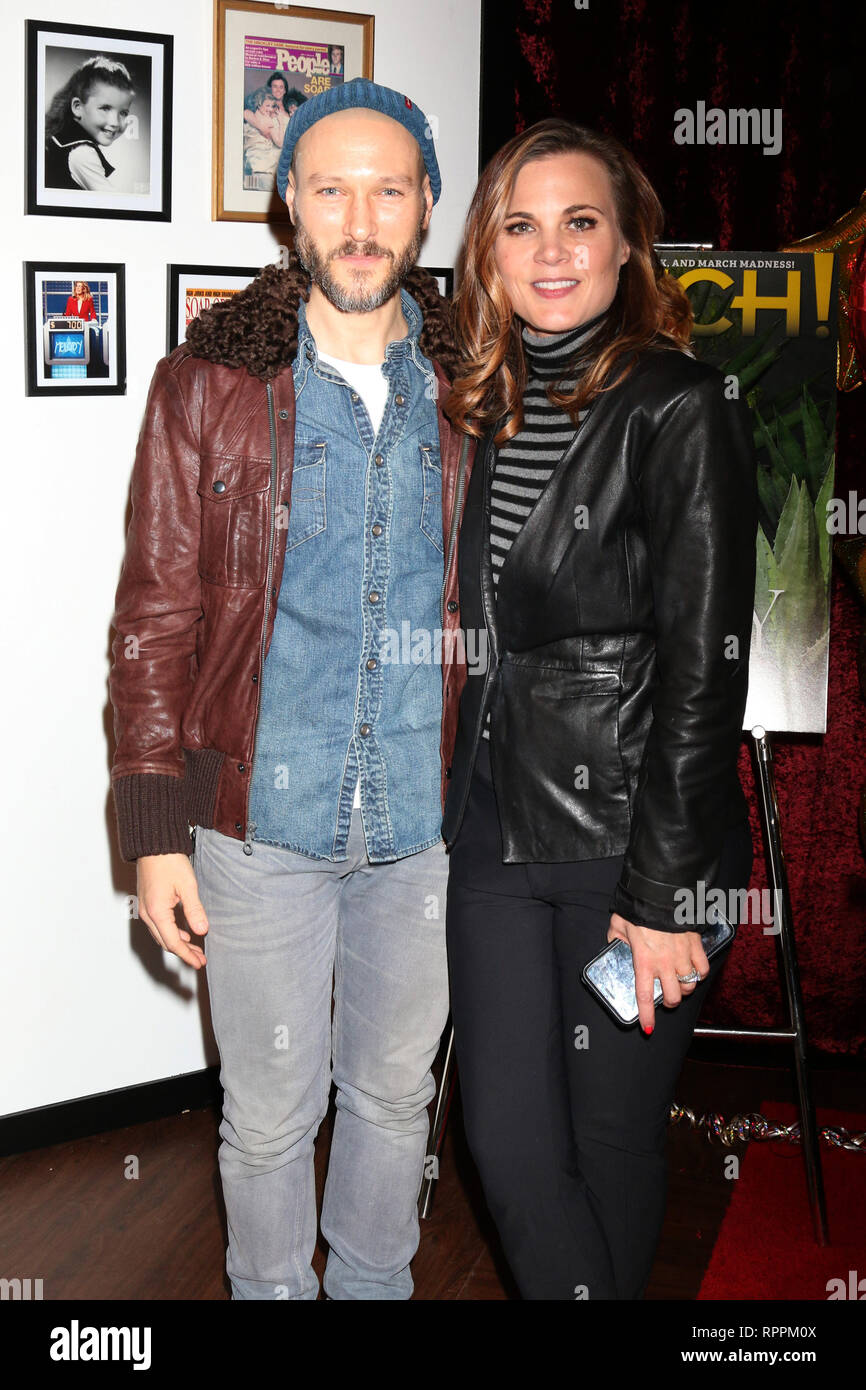 Los Angeles Ca Usa 20th Feb 2019 Los Angeles Feb 20 Michael Graziadei Gina Tognoni At The Melody Thomas Scott Celebrates 40 Years On Y R Event At Cbs Television City On
