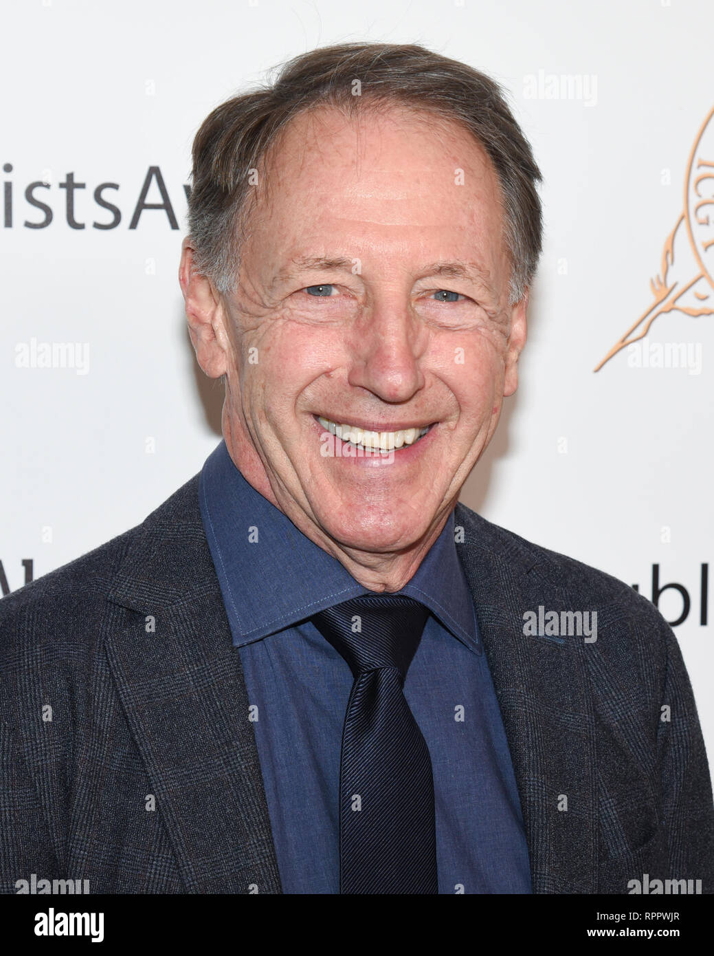 DENNIS DUGAN attends the 56th Annual ICG Publicist Awards at The Beverly Hilton Hotel in Beverly Hills, California. 22nd Feb, 2019. Credit: Billy Bennight/ZUMA Wire/Alamy Live News - Stock Image