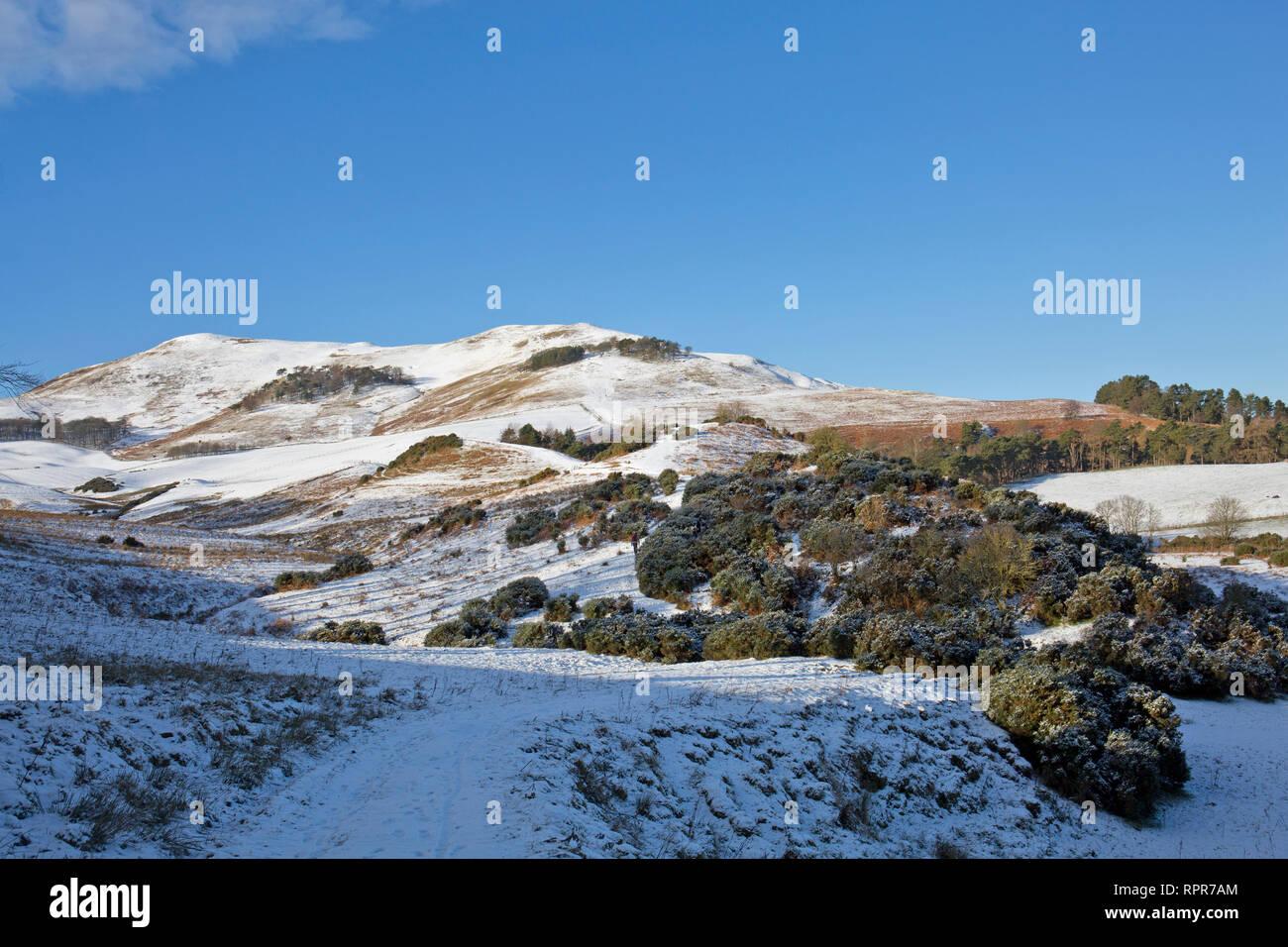 Scald Law, The pentland Hills, Midlothian, Scotland - Stock Image
