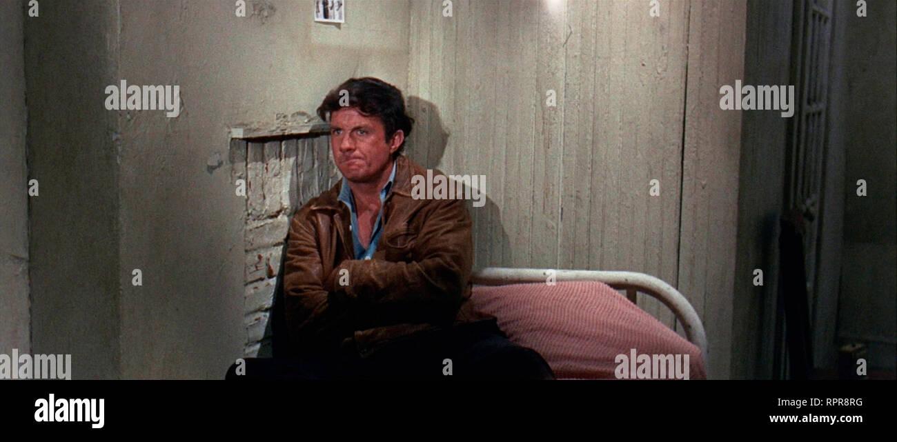 CHARLY 1968 de Ralph Nelson Cliff Robertson. handicape mental; mentally handicapped d'apres le roman 'Des fleurs pour Algernon' de Daniel Keyes based - Stock Image