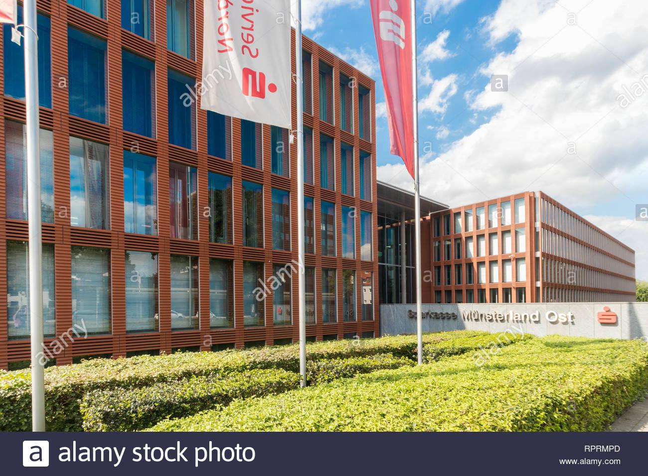 Sparkasse Münsterland Ost - Stock Image