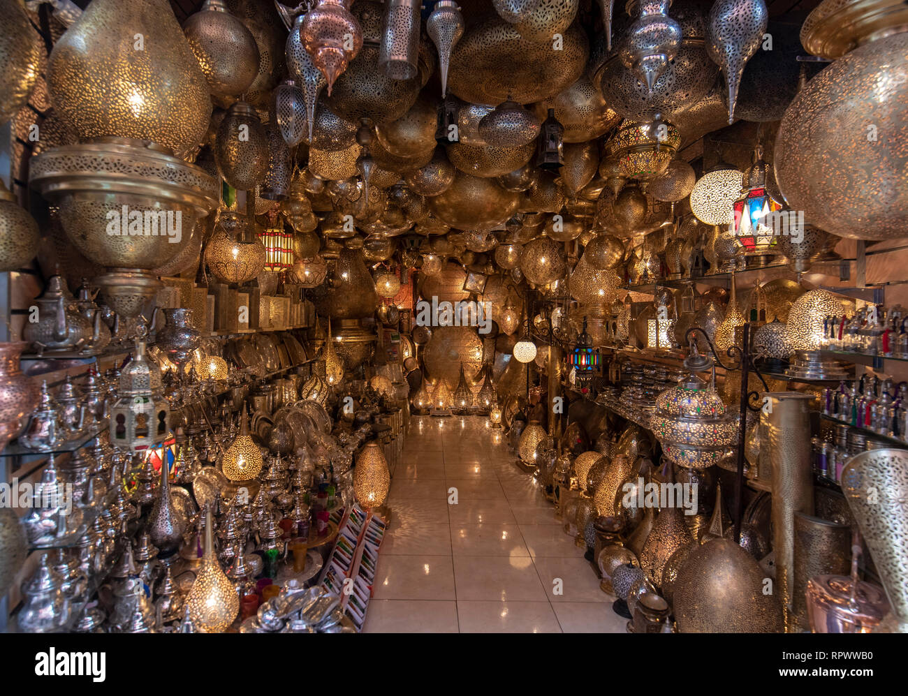 Antique Moroccan Lanterns High Resolution Stock Photography And Images Alamy