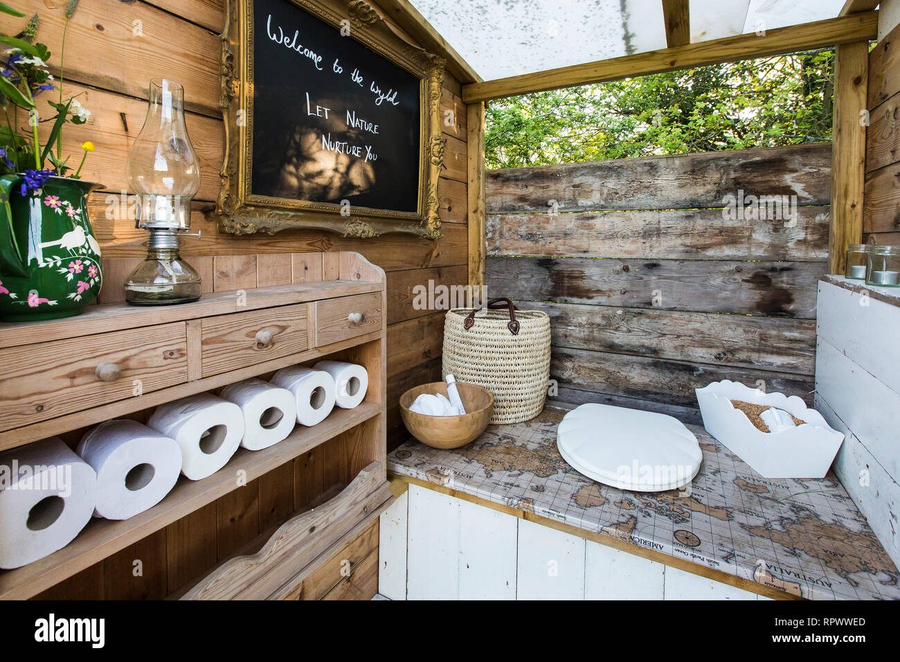 Camping Composting Toilet : Camping toilet stock photos & camping toilet stock images alamy
