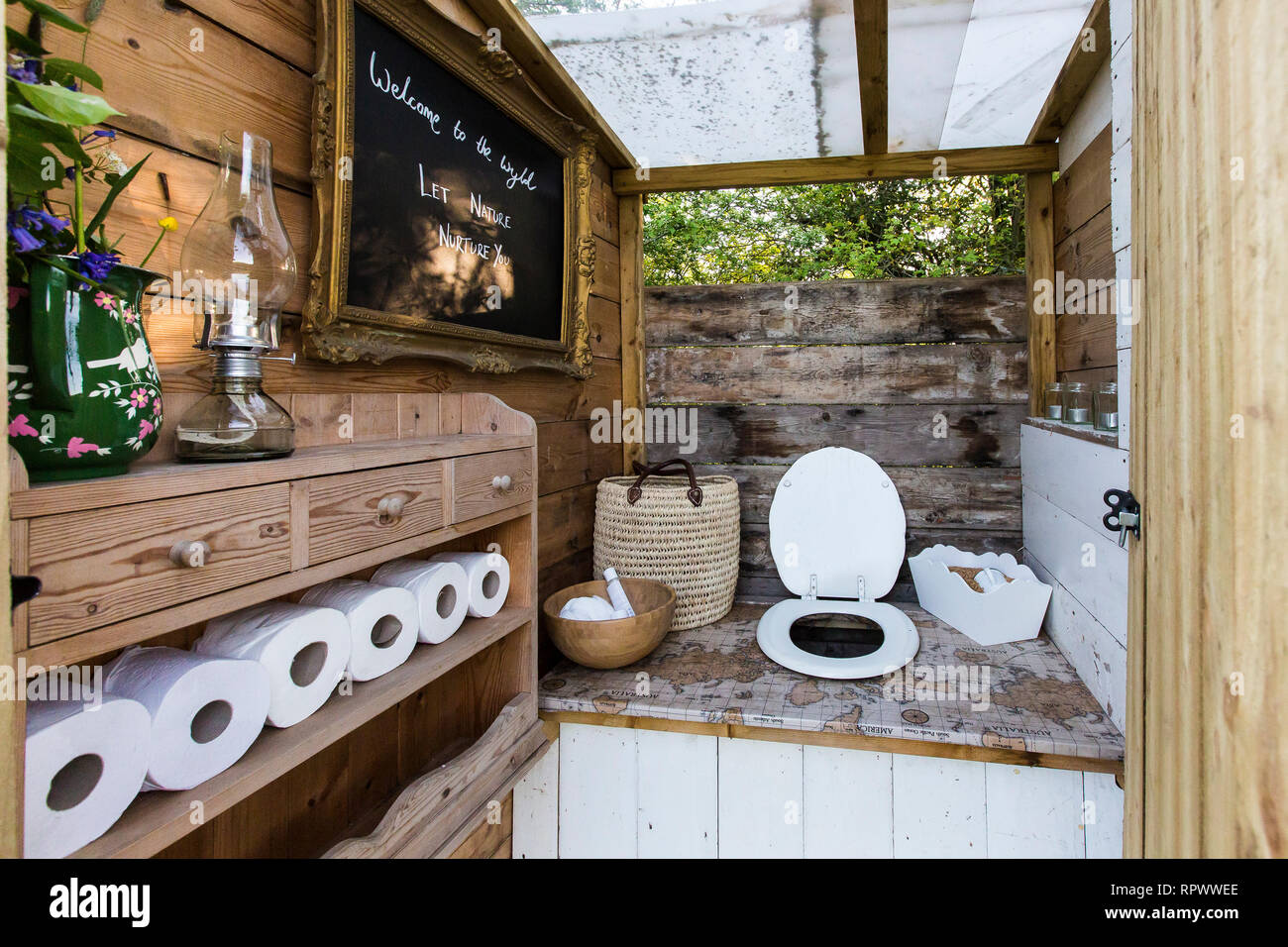 Camping Toilet High Resolution Stock Photography And Images Alamy