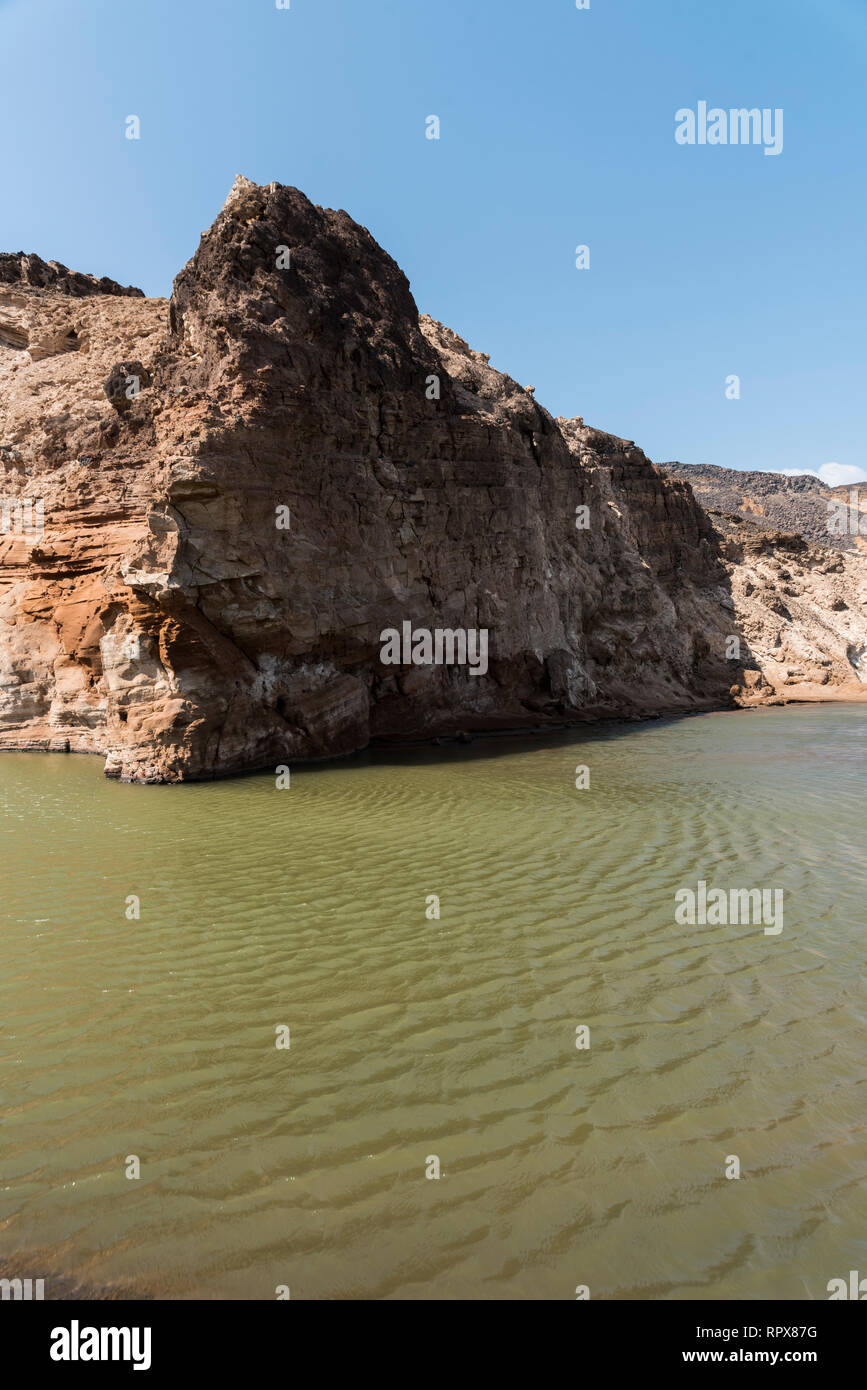 Lac Assal (Salt Lake), Djibouti, East Africa Stock Photo