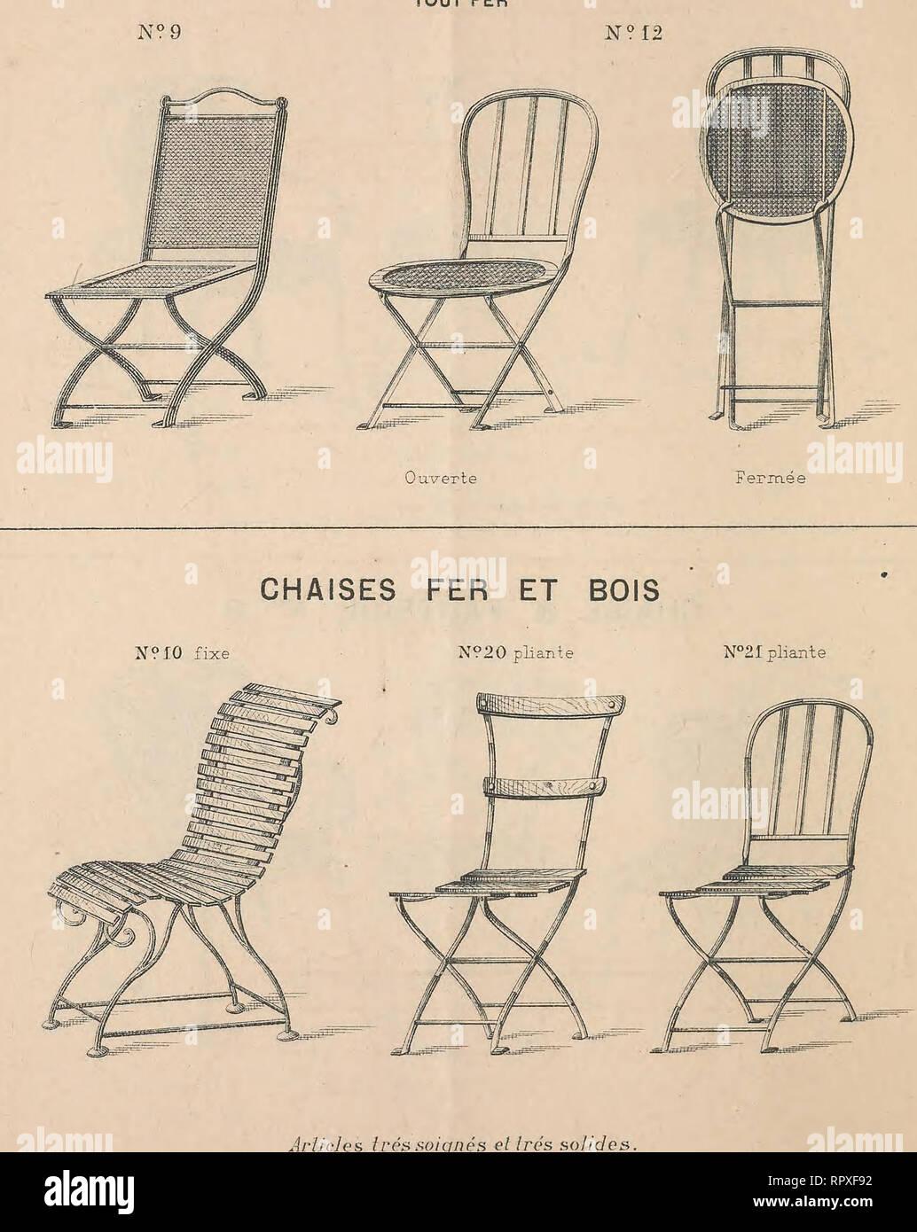 Album des meubles de jardins et porte-bouteilles. Catalogs ...