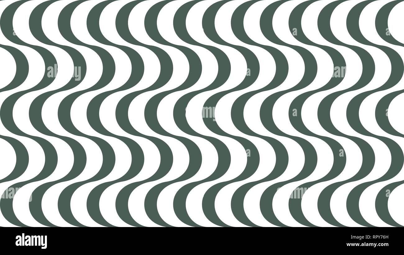Geometric wavy striped background for interior, design ...