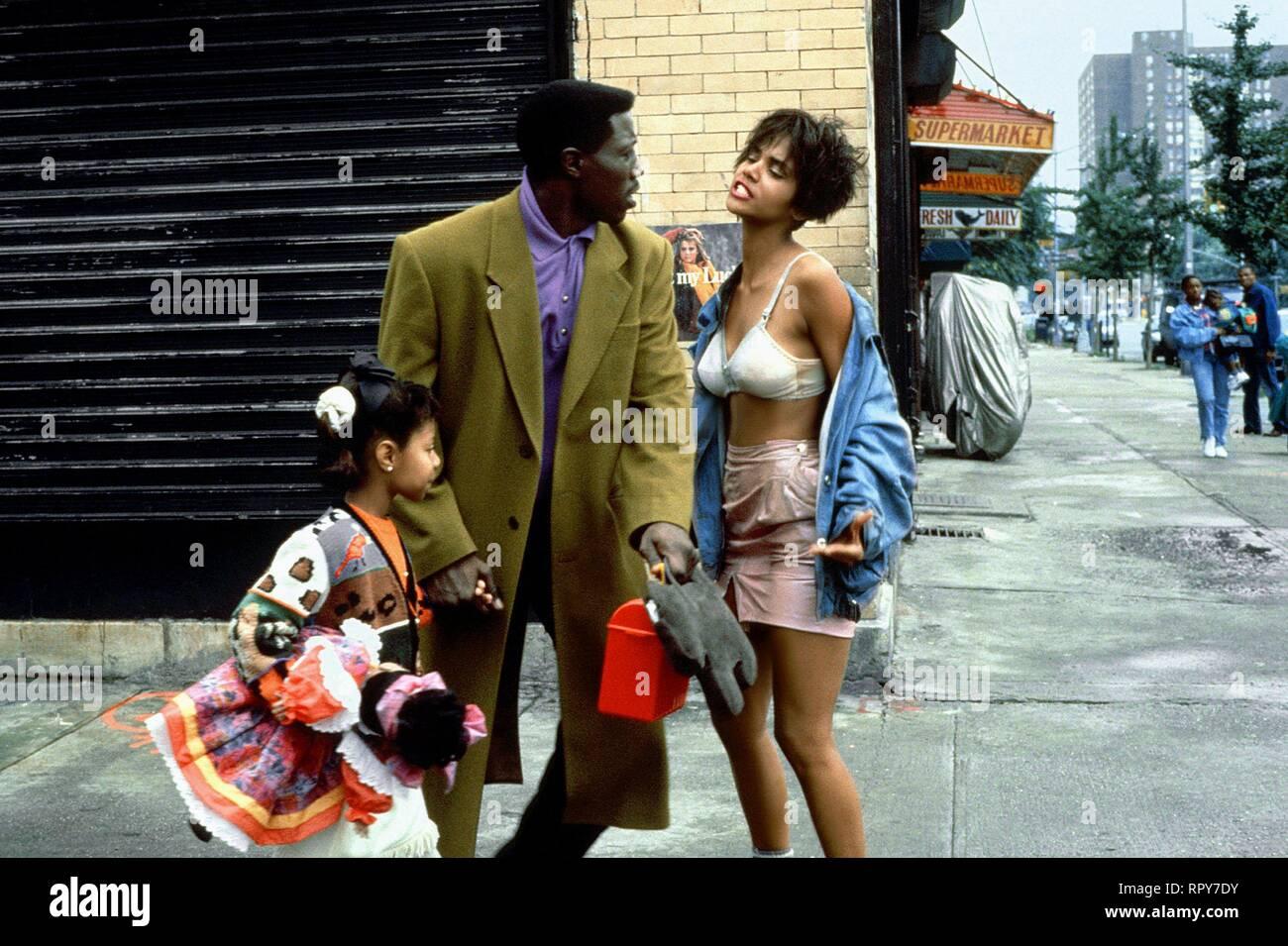 SNIPES,BERRY, JUNGLE FEVER, 1991 Stock Photo