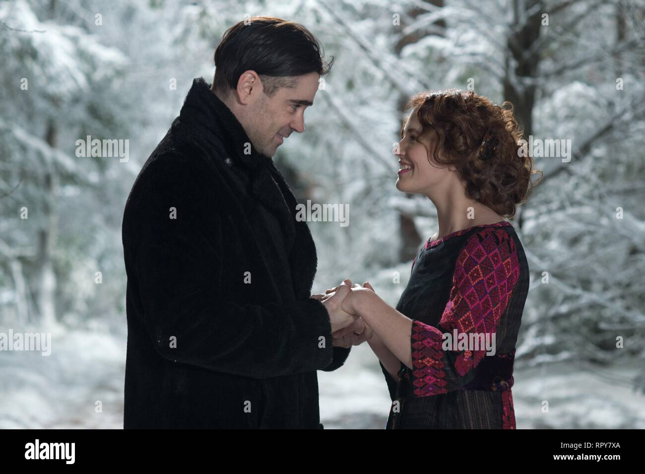 FARRELL,FINDLAY, A NEW YORK WINTER'S TALE, 2014 - Stock Image
