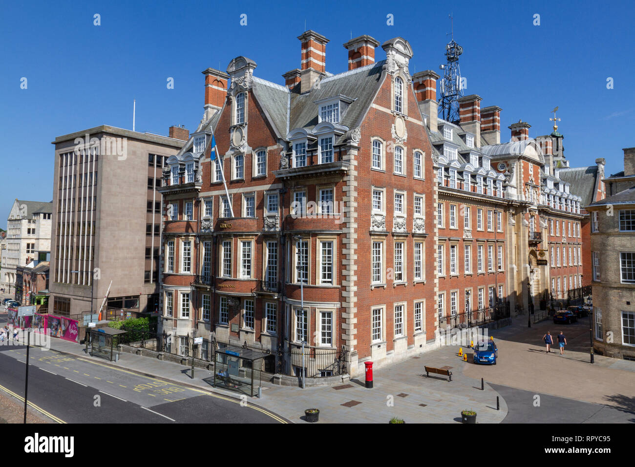 The Grand luxury hotel in the City of York, UK. - Stock Image