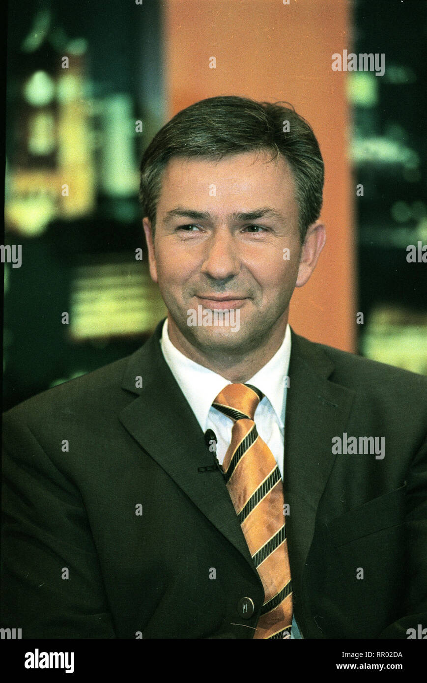 KLAUS WOWEREIT / KLAUS WOWEREIT - Politiker, SPD / Überschrift: KLAUS WOWEREIT Stock Photo