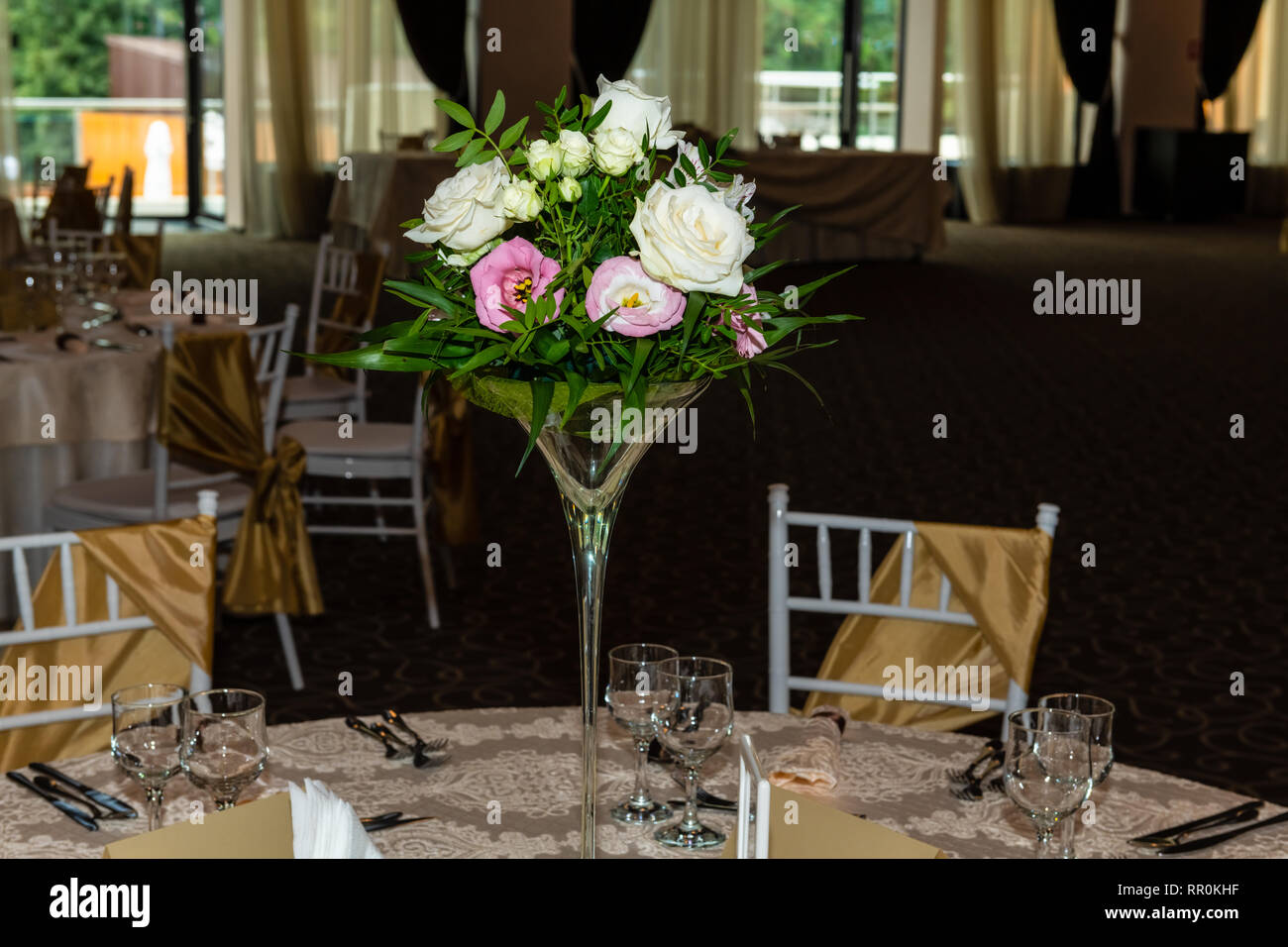 Superb Floral Centerpiece At Luxury Elegant Wedding Reception Best Image Libraries Weasiibadanjobscom