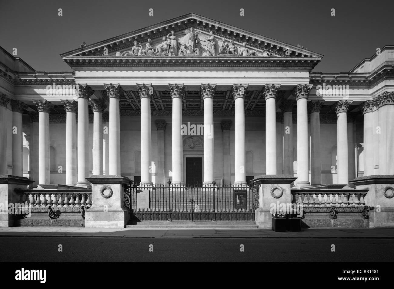 The Fitzwilliam Museum Trumpington Street Cambridge - Stock Image