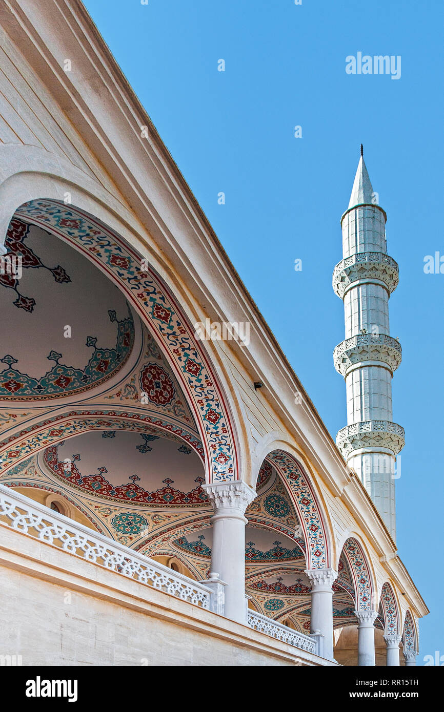 A Mosque In Manavgat Turkey Stock Photo