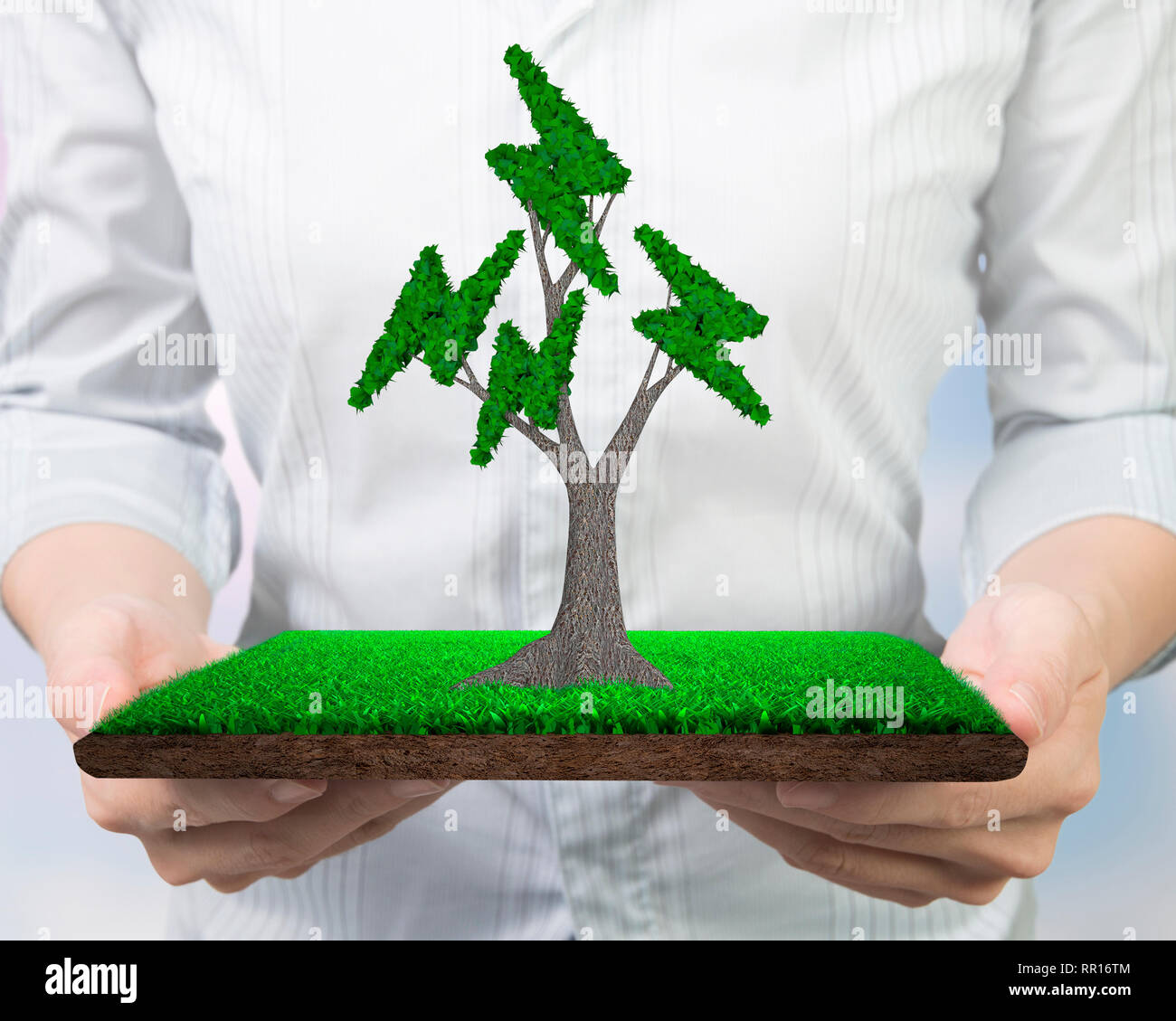 Concept for supply or development of green energy generation