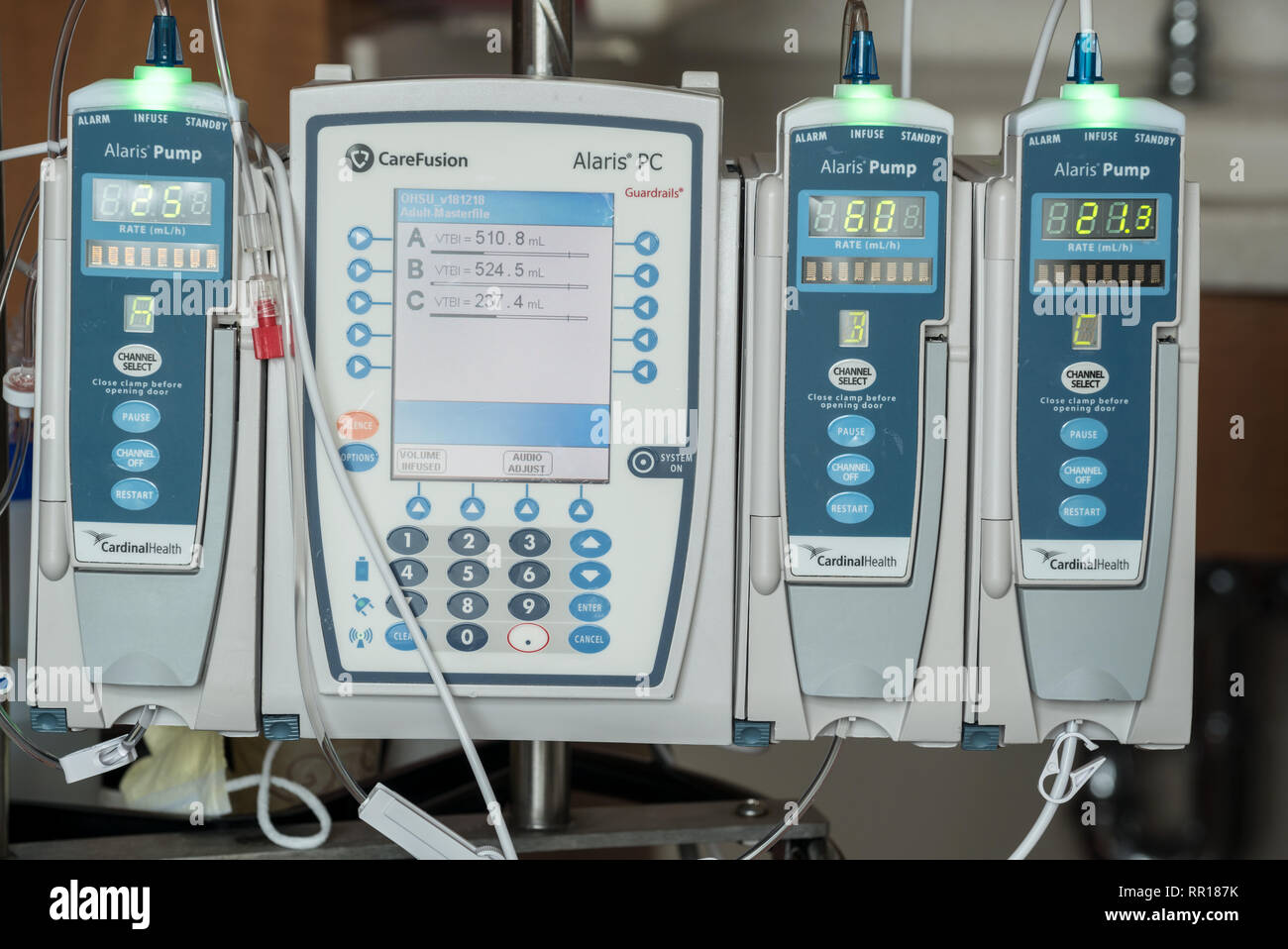 Hospital Pump Stock Photos & Hospital Pump Stock Images - Alamy