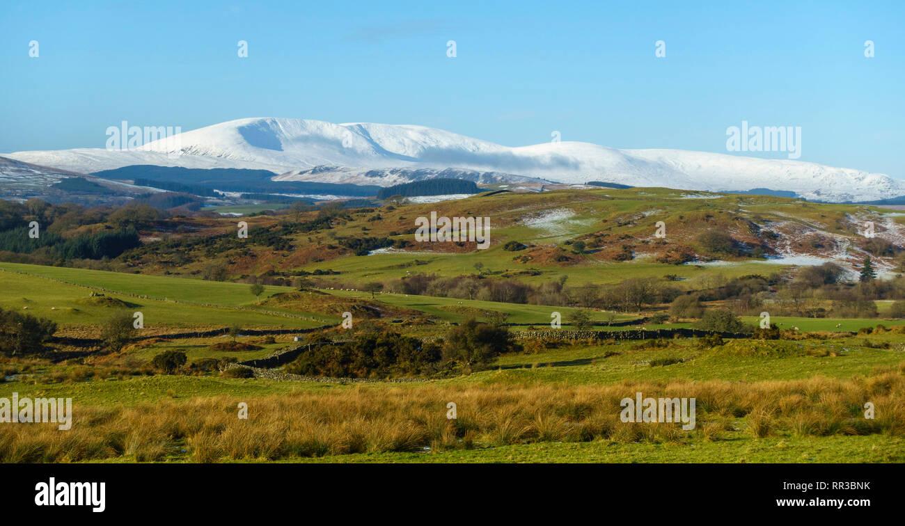 Cairnsmore of Fleet in winter, Dumfries & Galloway, Scotland - Stock Image