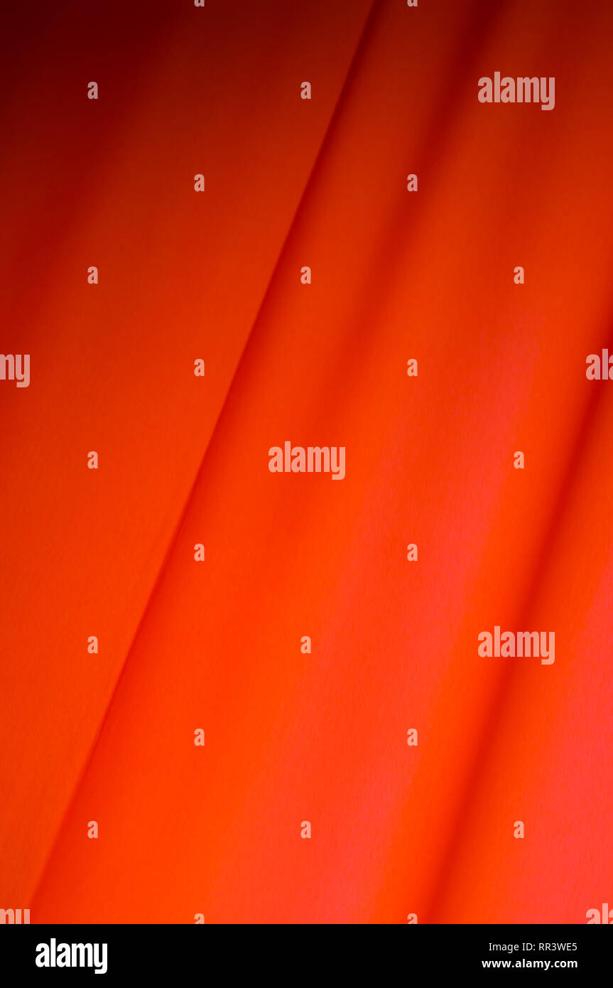 Red drape background. Flag. MayDay. Red Curtain Stock Photo