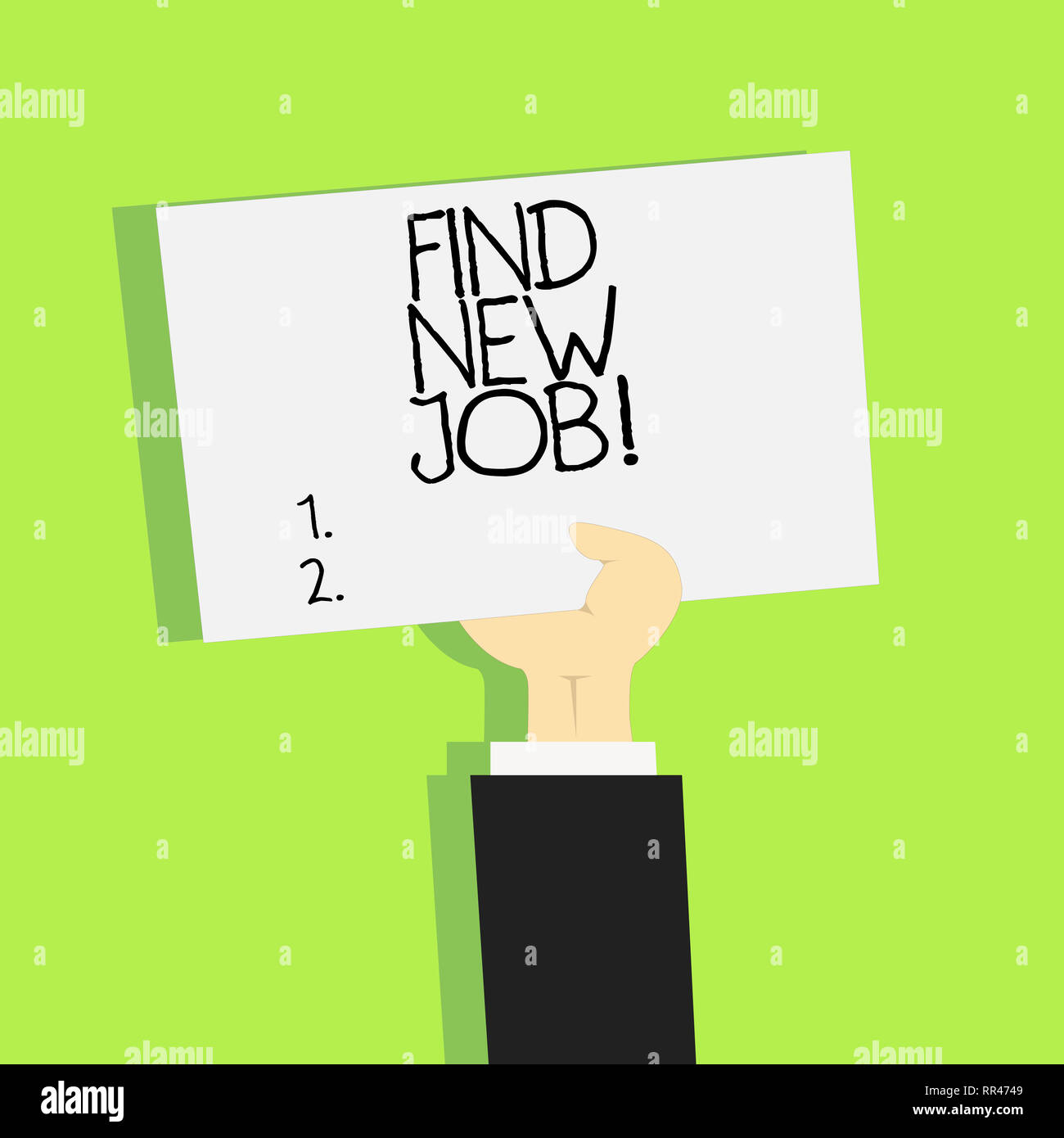 Writing Note Showing Find New Job Business Photo Showcasing Searching For Career Opportunities Solution To Unemployment