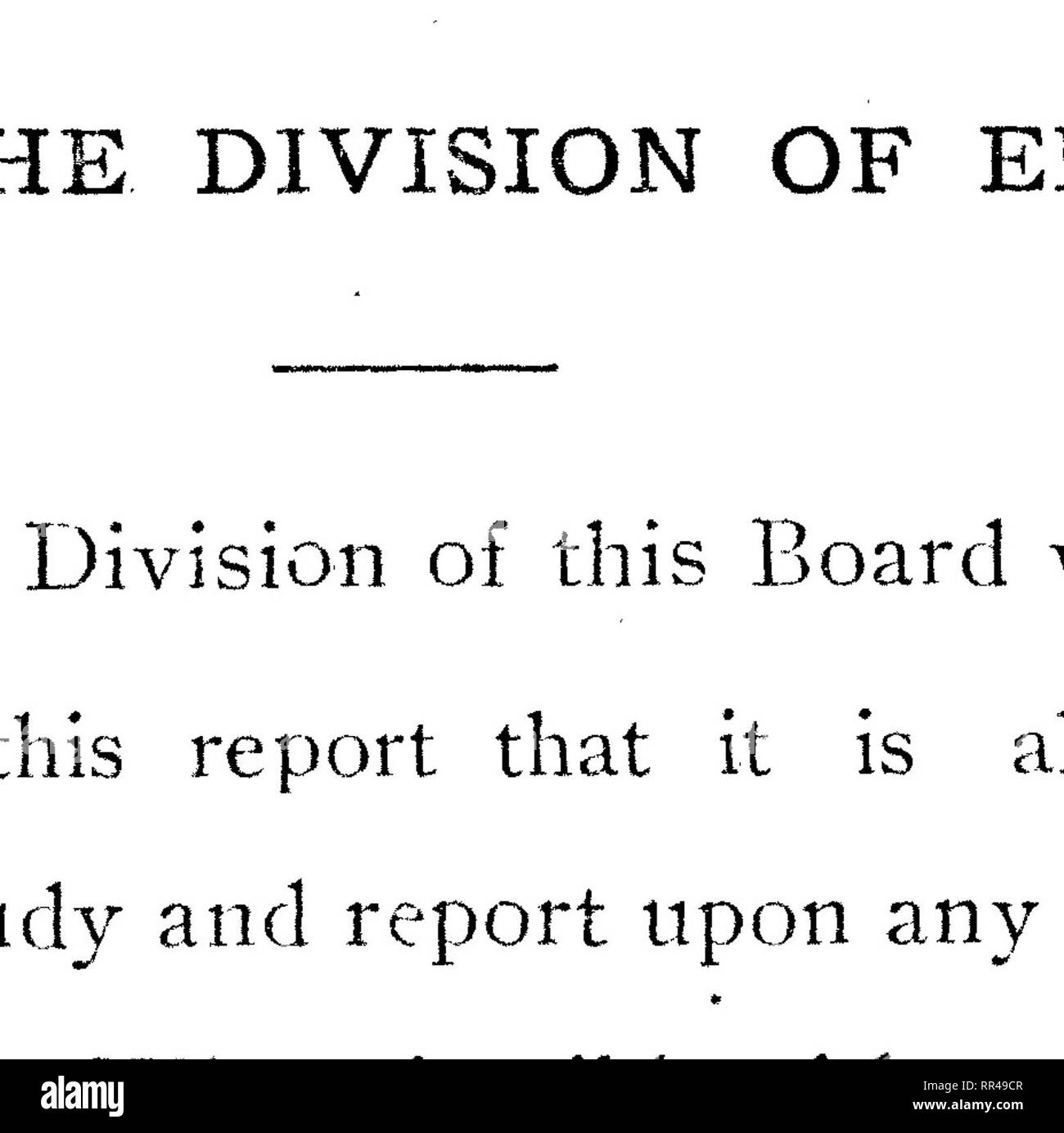 Report of the Board of Commissioners of Agriculture and