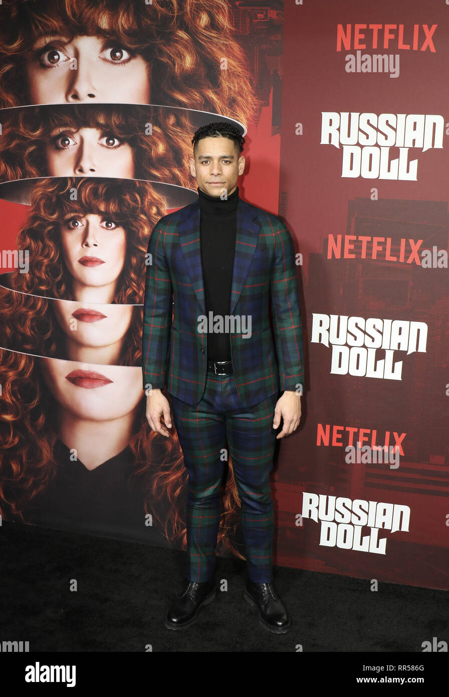 Cast Members From Netflixs Russian Doll On The Red Carpet