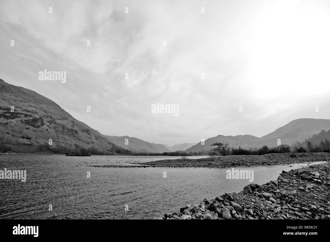 The Lake District, England - Stock Image