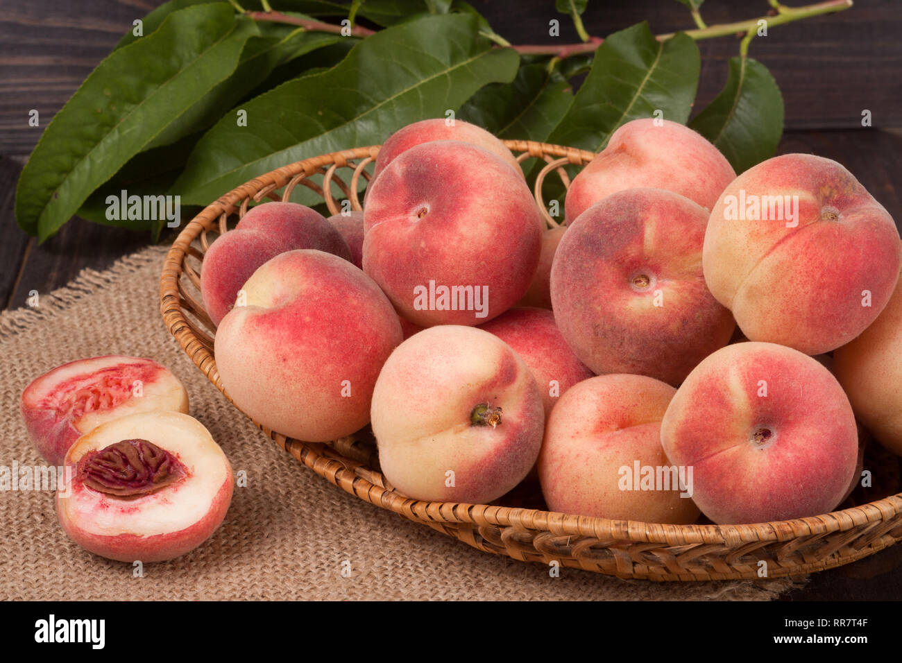 Stock Pictures Peaches