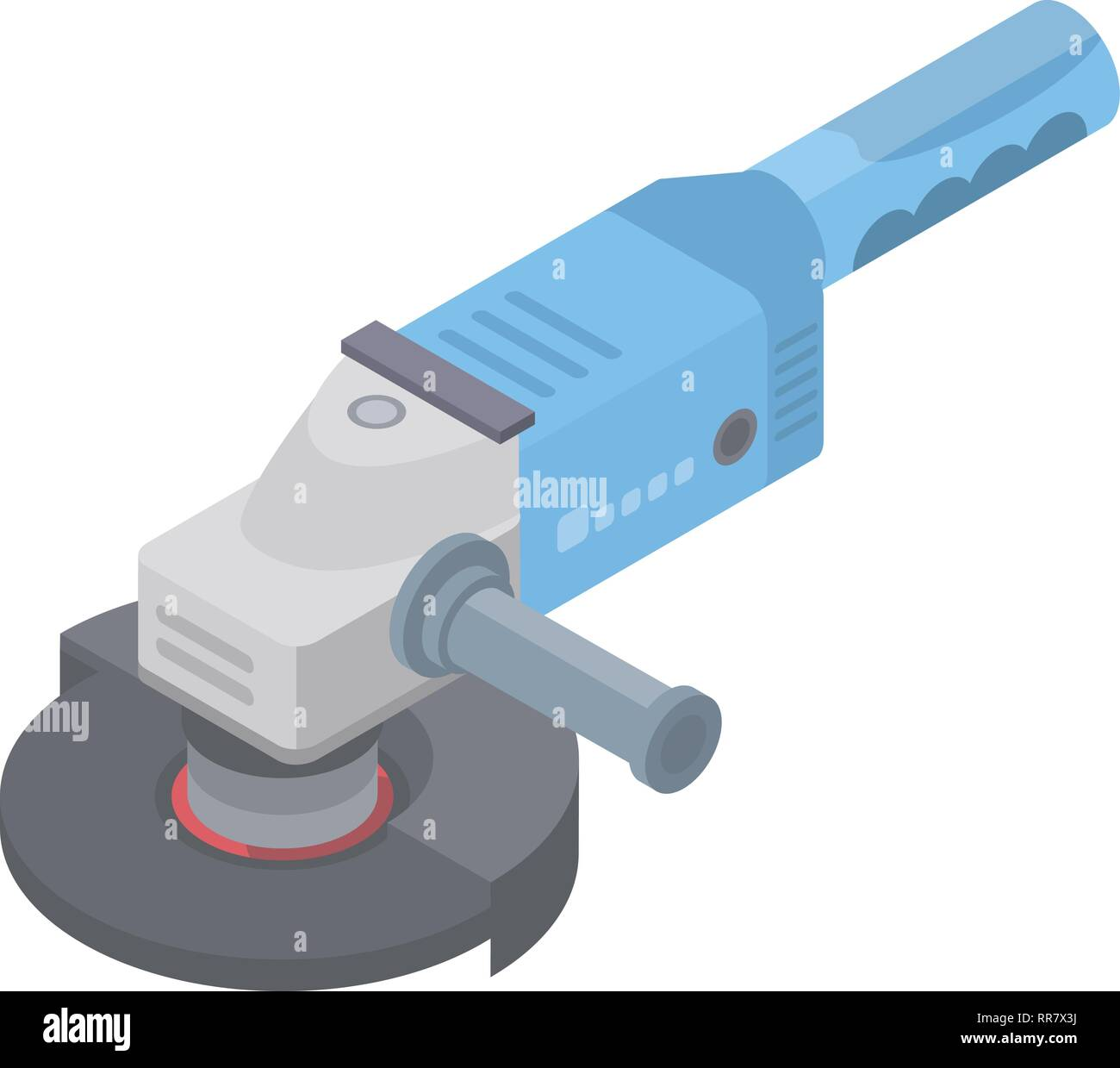 Angle grinder icon, isometric style - Stock Vector
