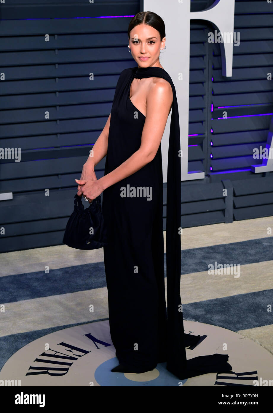 e0cea5d78ec Jessica Alba attending the Vanity Fair Oscar Party held at the Wallis  Annenberg Center for the Performing Arts in Beverly Hills