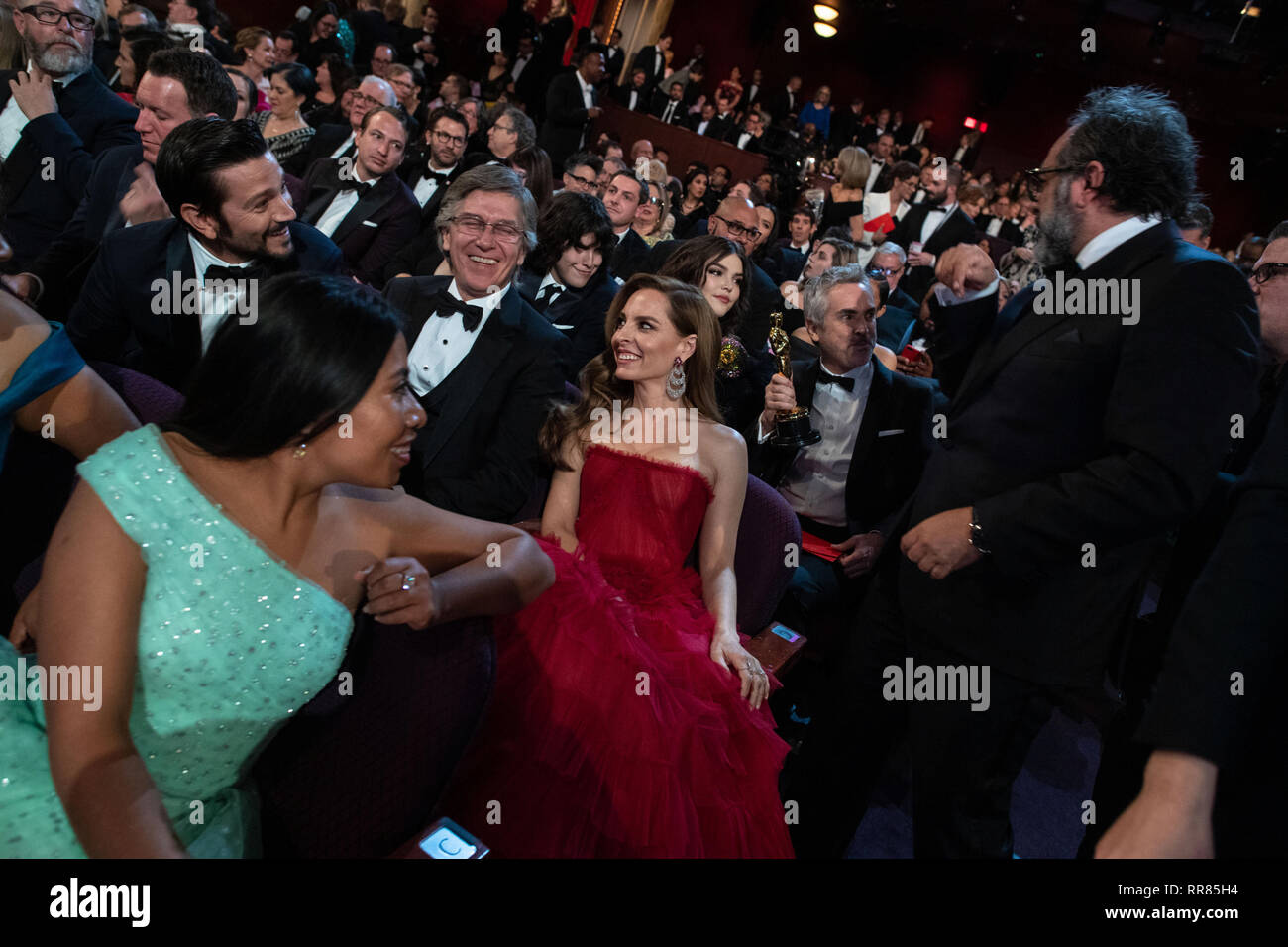 Oscar® nominees Yalitza Aparicio and Marina de Tavira during the