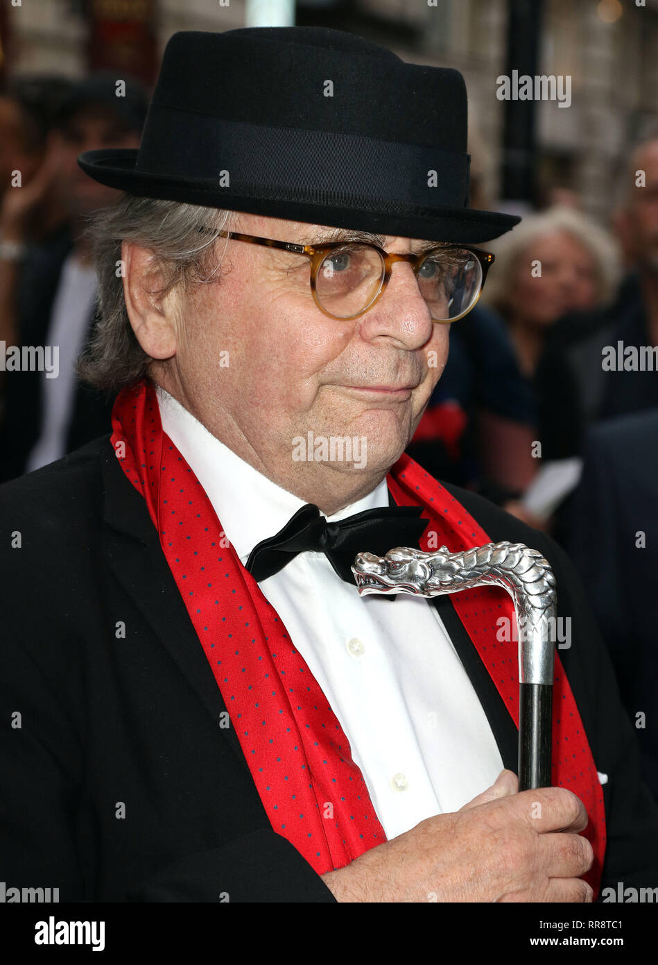 Jul 20, 2015 - London, England, UK - Frank Sinatra: The Man and His Music Press Night, at the Palladium - VIP Arrivals Photo Shows: Sylvester McCoy - Stock Image